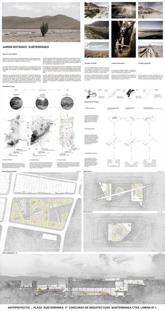 Lámina #01. Image Cortesia de Leonardo Quinteros y Luis Pérez Huenupi
