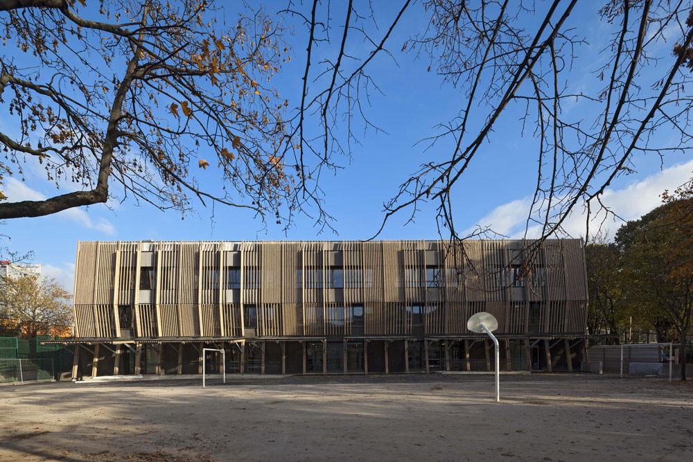 Françoise Dorleac School / DE-SO, © Hervé Abbadie