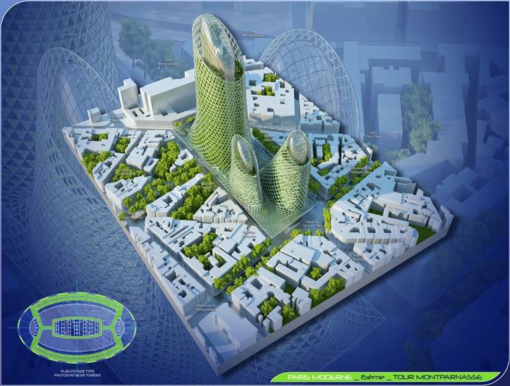 Gallery of vincent callebaut 39 s 2050 vision of paris as a for Architecture 2050