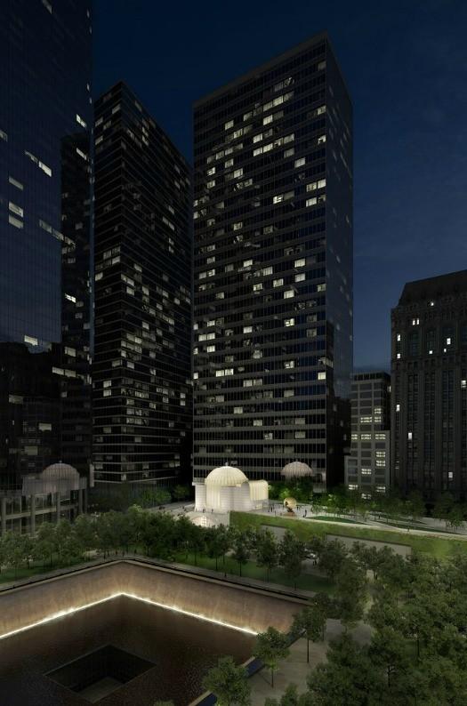 diseo de calatrava para la nueva iglesia de san nicols ground zero imagen cortesa