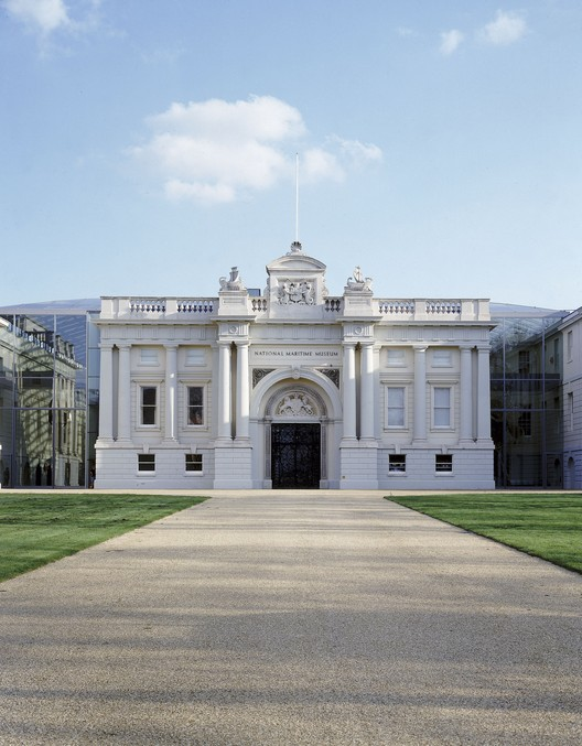 Architect Wanted to Revamp London's National Maritime Museum, National Maritime Museum. Image © Flickr CC User Visit Greenwich