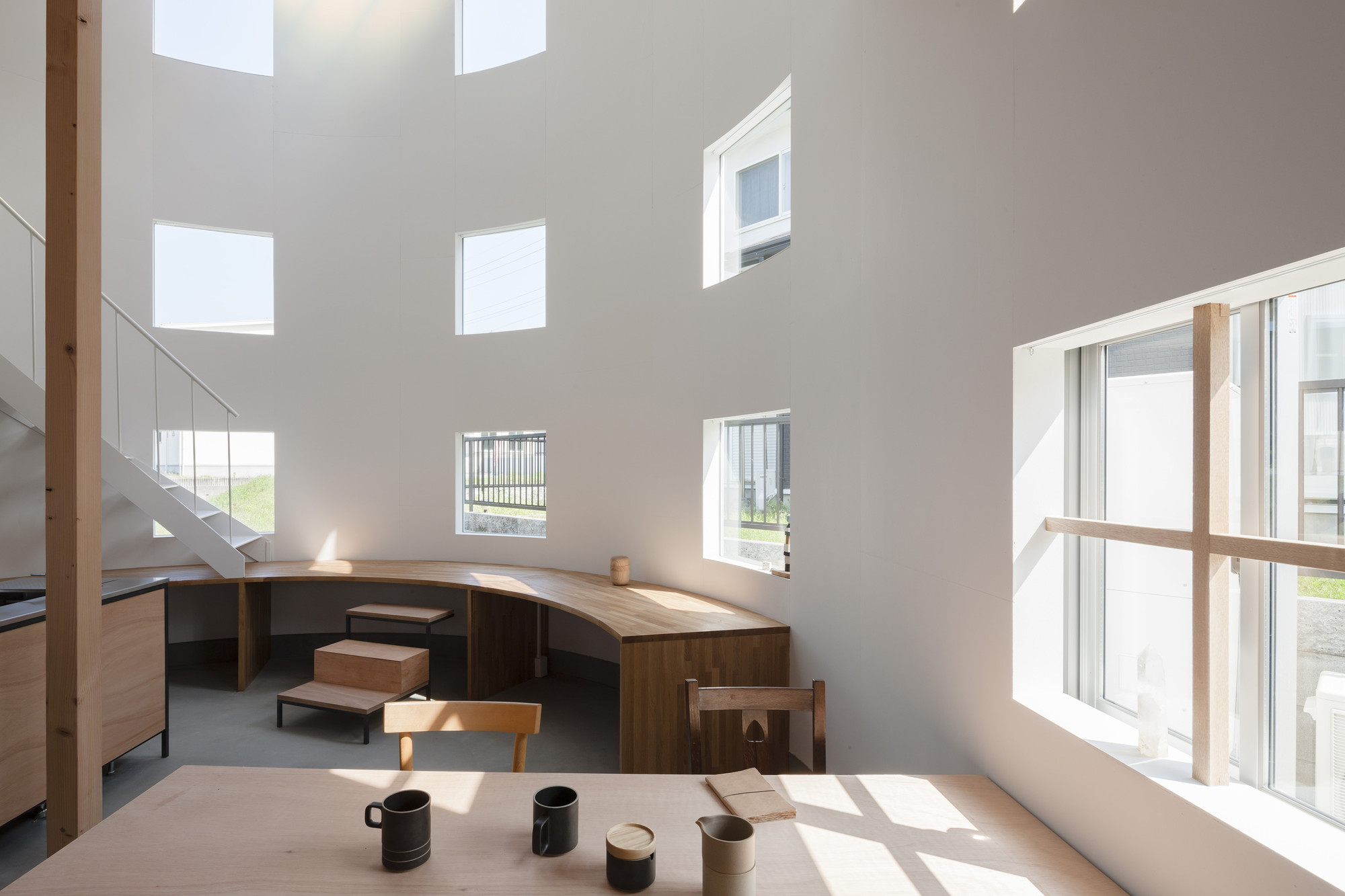 House in Hikone / Tato Architects, © Shinkenchiku sha