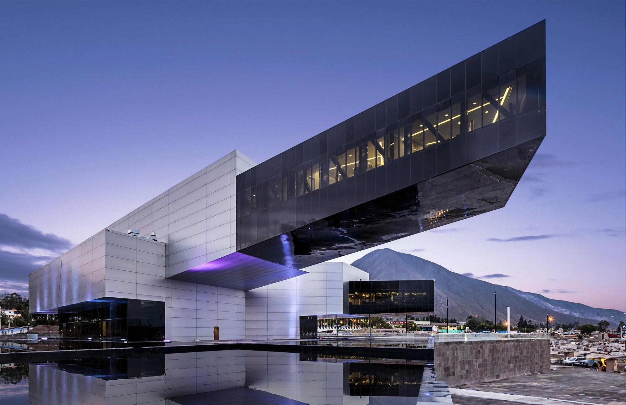 Edificio UNASUR / Diego Guayasamin, © Sebastián Crespo