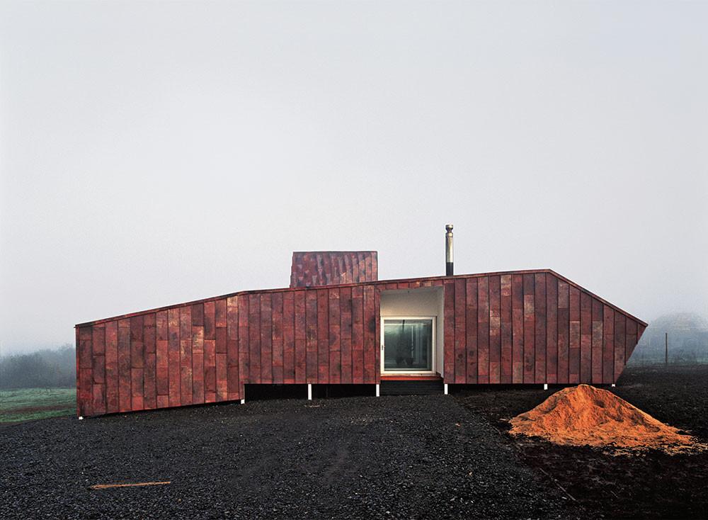 """Construcción"" de Cristobal Palma en Galería XS / Santiago, Chile, © Cristobal Palma"