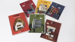 Win a Postcard Set of Federico Babina's Archibet, the Illustrated Alphabet of Architects