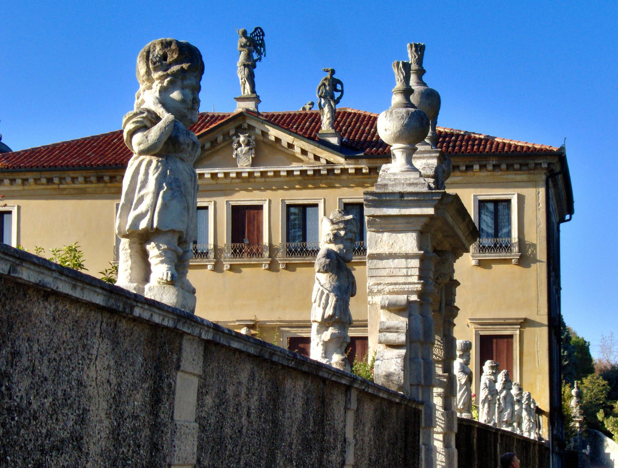 Detalle de Villa Valmarana en Vicenza, Italia.. Image © istela1 [Flickr CC]