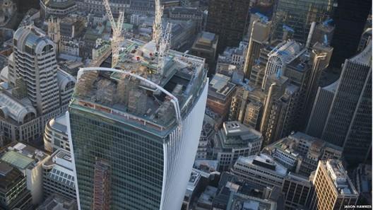 """Críticas al rascacielo de Viñoly en Londres: """"hinchado"""" y """"poco elegante"""", © Jason Hawkes"""