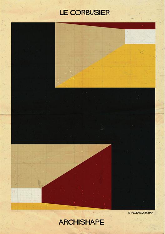 """Arte y Arquitectura: ARCHISHAPE, """"Formas arquitectónicas en ilustraciones minimalistas"""", Cortesía de Federico Babina"""