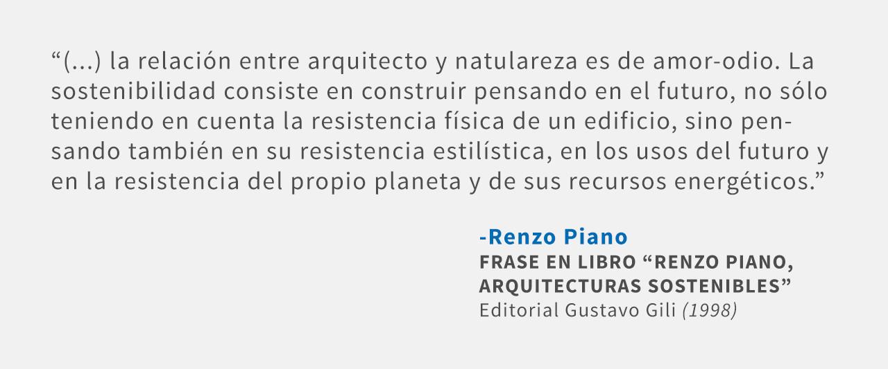Frases: Renzo Piano