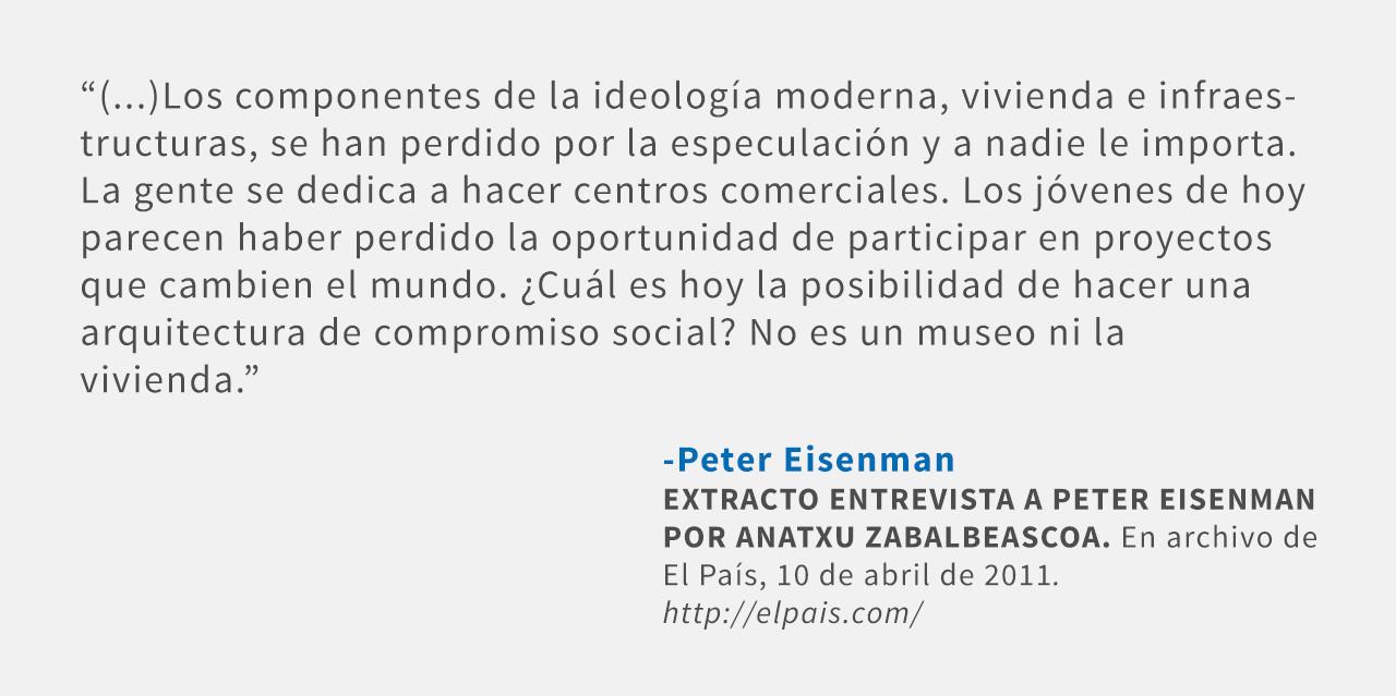 Frases: Peter Eisenman