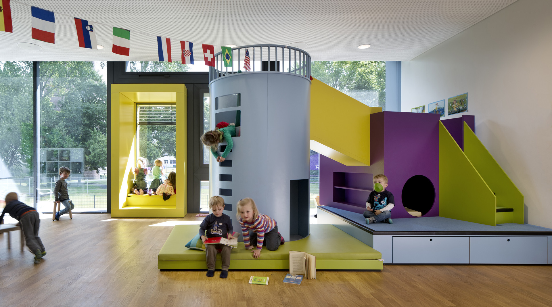 Beiersdorf children s day care centre for The home ideas centre