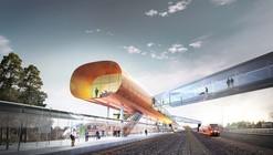 Arhitektuuribüroo PLUSS Wins Competition for Railway Station in Pärnu