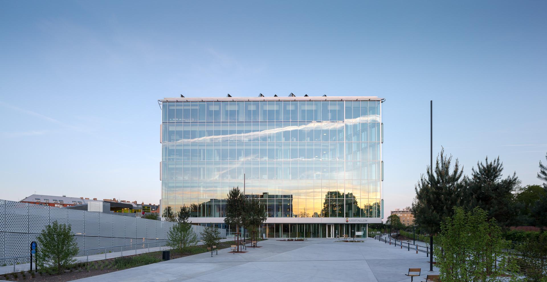 The Greenest City Hall in Sweden / Christensen & Co Architects, © Adam Mørk