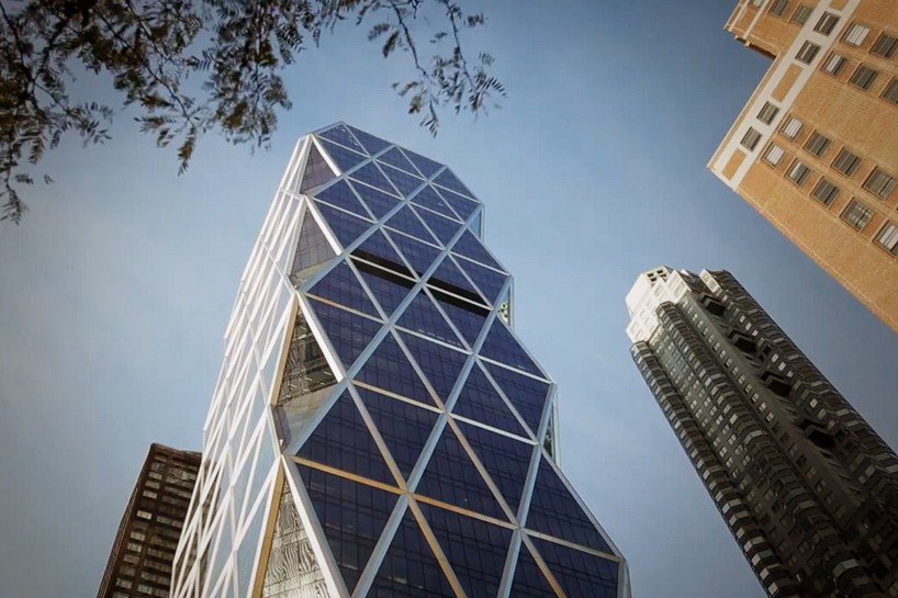 norman foster revisits new yorkus hearst tower with drones