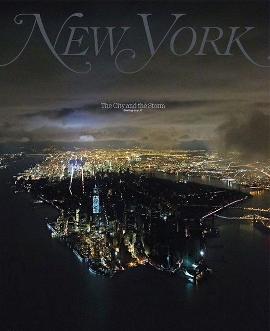 Nueva York – The City and the Storm. Image © Iwan Baan for New York Magazine