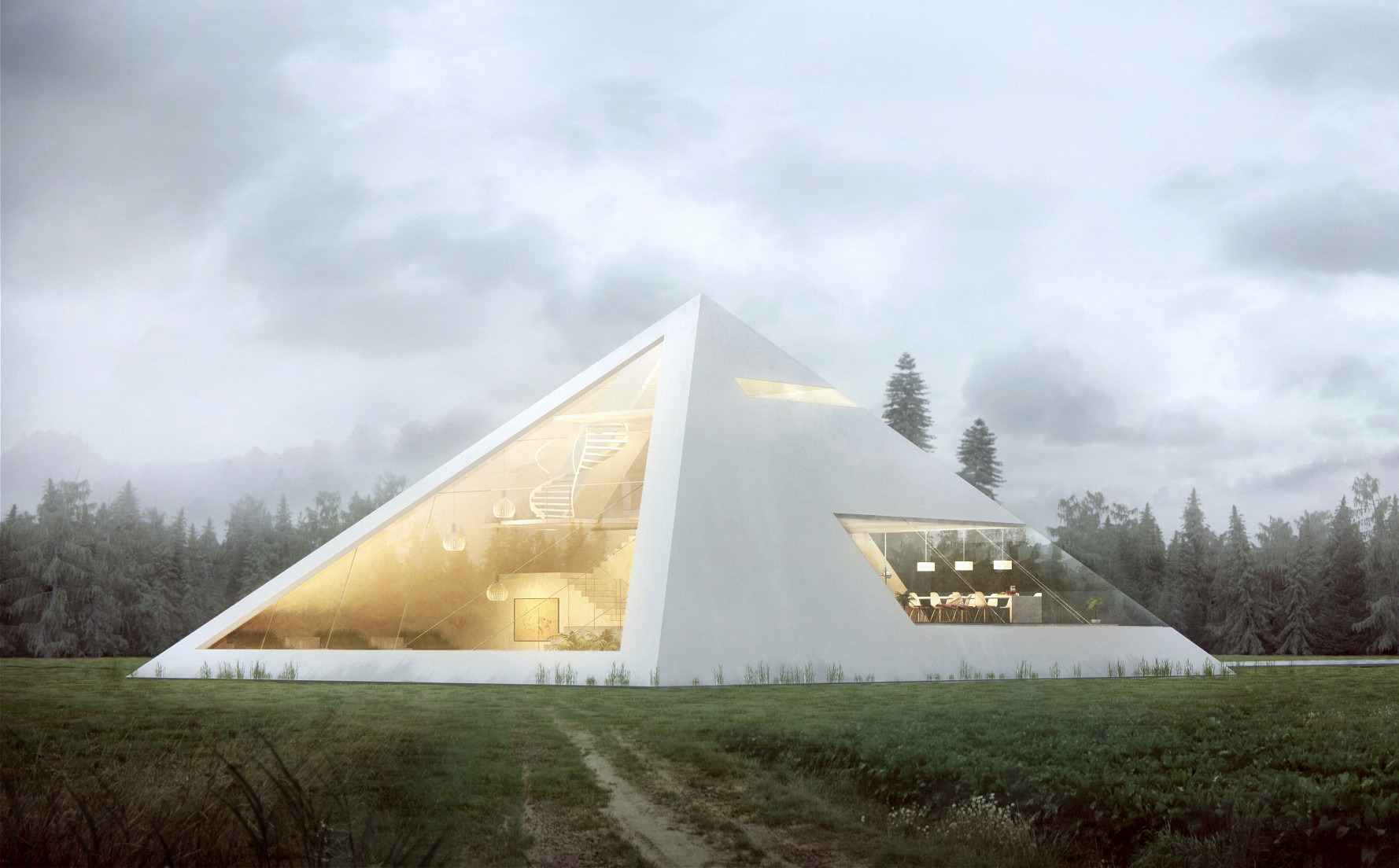 Pyramid House Plans Gallery Of 6 Modern Pyramids That Show Timeless Geometry Is Here
