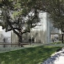 The Nancy and Rich Kinder Building. Image Courtesy of Steven Holl Architects