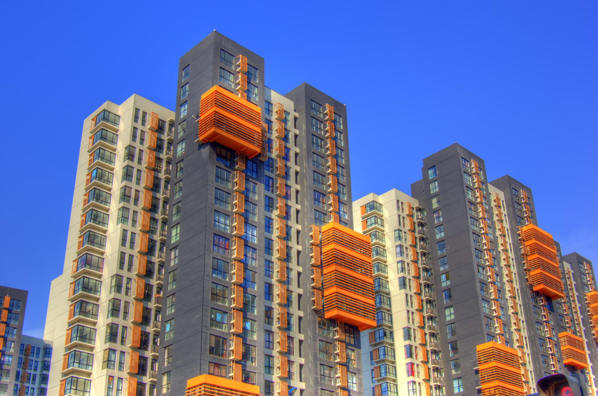 Desarrollo inmobiliario en Tianjin, China. Image © Jakob Montrasio [Flickr CC]