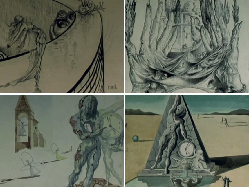 """Ilustraciones de Salvador Dalí para """"Destino"""". Image © Walt Disney Pictures"""