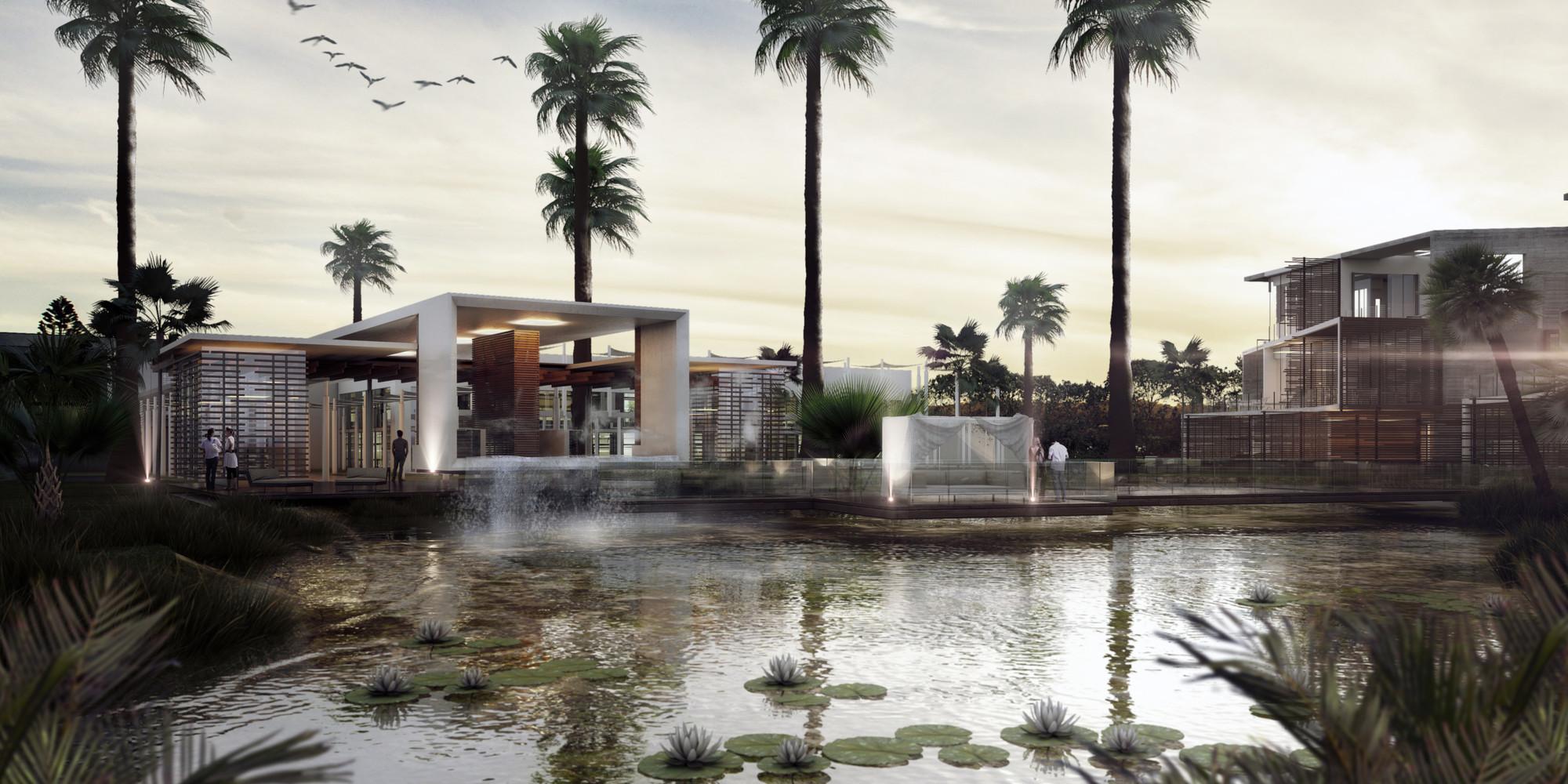 Despacho mexicano desarrolla proyecto ecológico en Cancún, México, © CG Veron