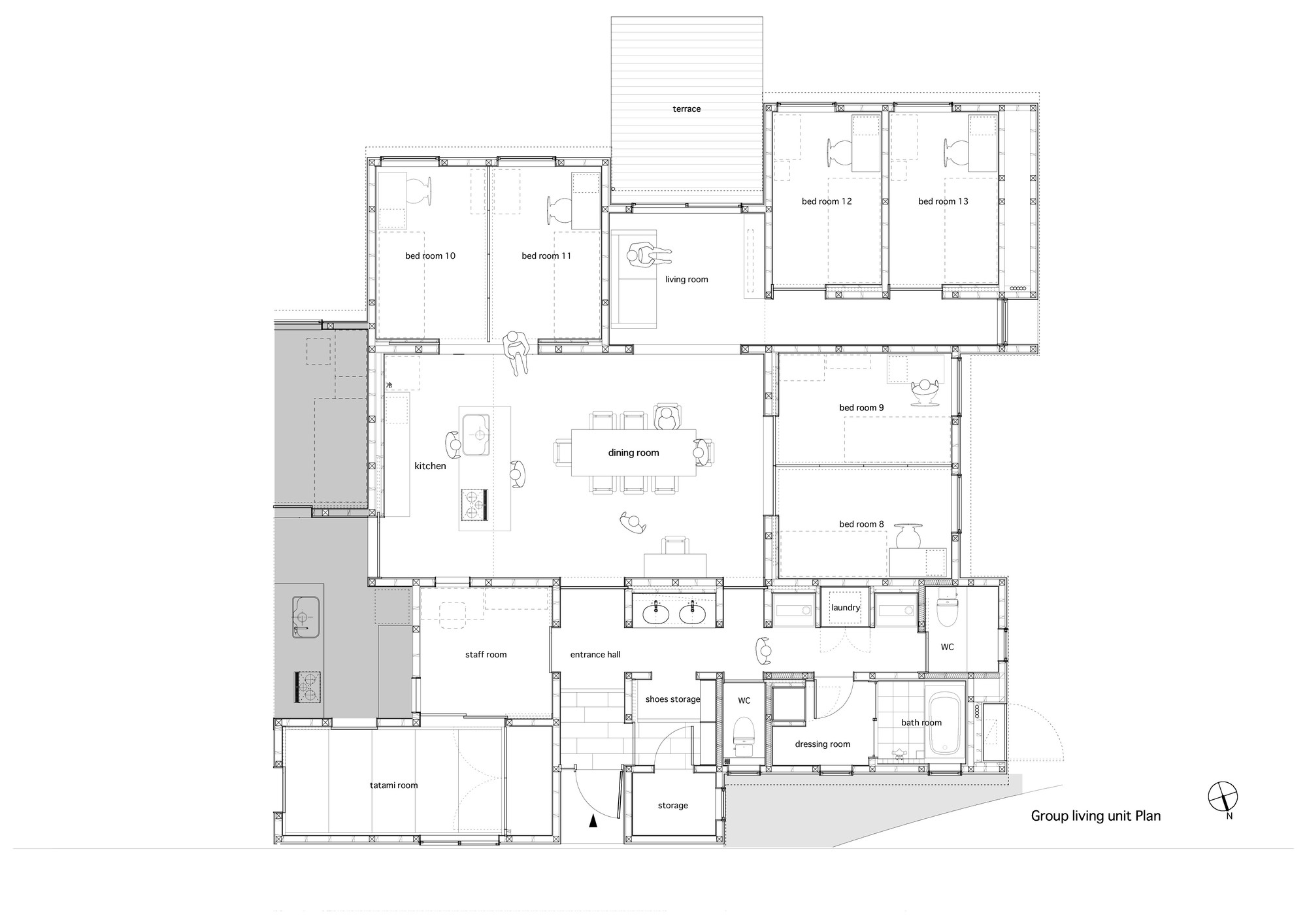 floor plans for group homes home design and style group home floor plans group home floor plans awesome