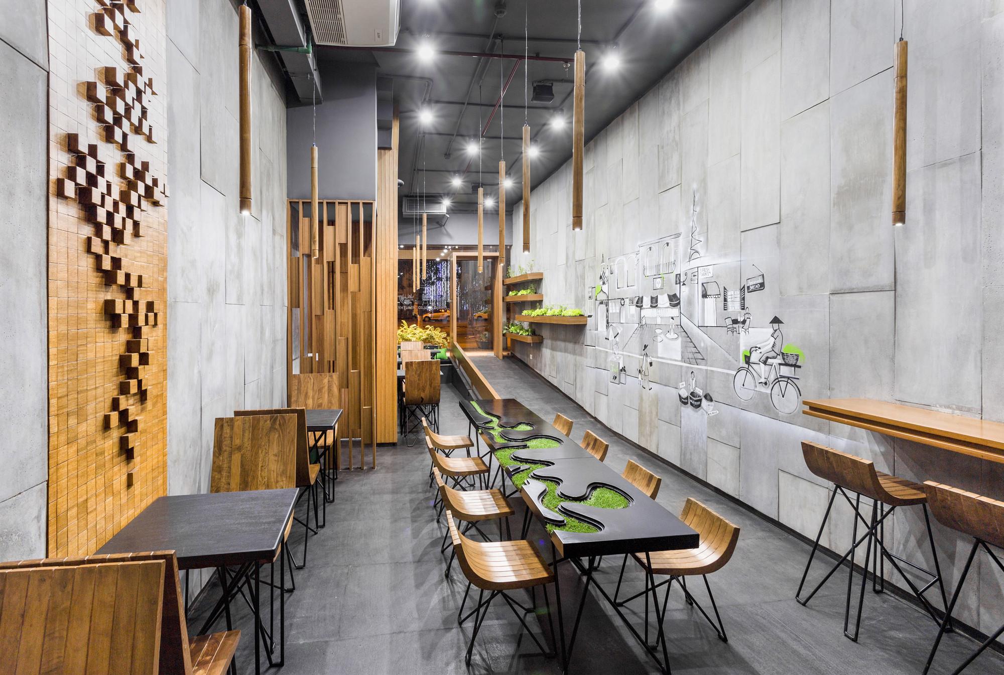 AJA Restaurant / Arch.Lab, © Purnesh Dev Nikhanj