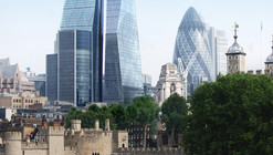 Avery Associates Reveals Design for 270-Metre Tower Next to London's Cheesegrater
