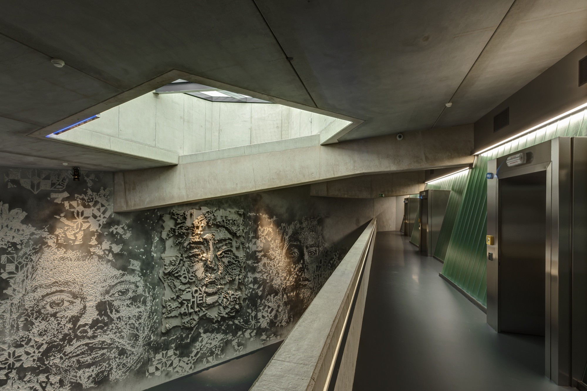 The Luxembourg Freeport / Atelier d'Architecture 3BM3, Courtesy of Atelier d'Architecture 3BM3