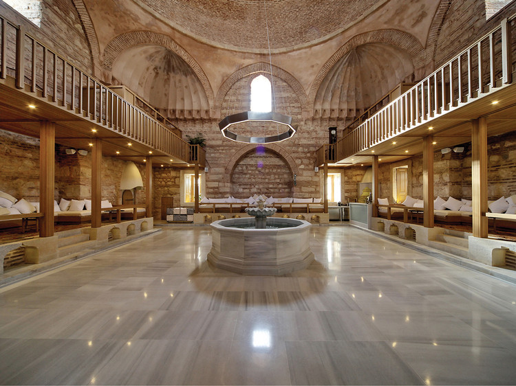 Kilic Ali Pasa Hamam / Cafer Bozkurt Architecture, © Cengiz KARLIOVA