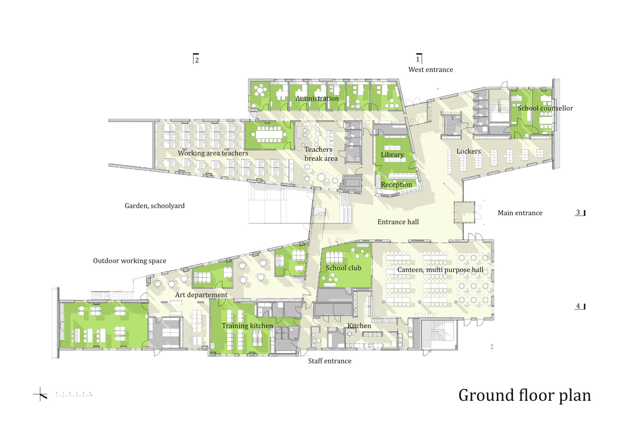 High School Building Floor Plans : Floor Plan