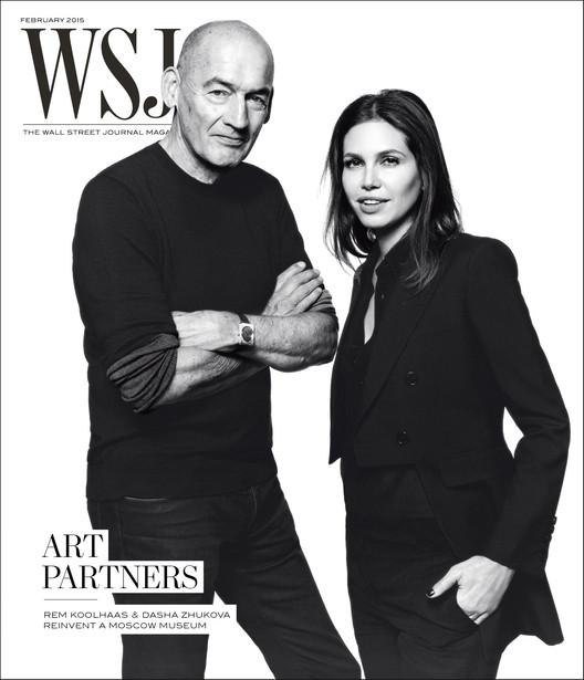 Rem Koolhaas y Dasha Zhukova se asocian para rediseñar Museo de Arte Contemporáneo en Moscú , © WSJ Magazine