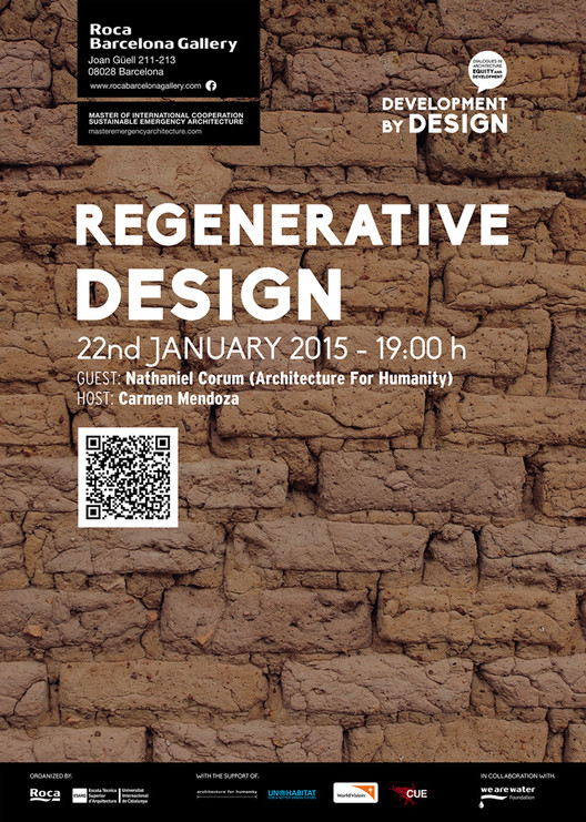 Conferencia: Regenerative Design / Barcelona