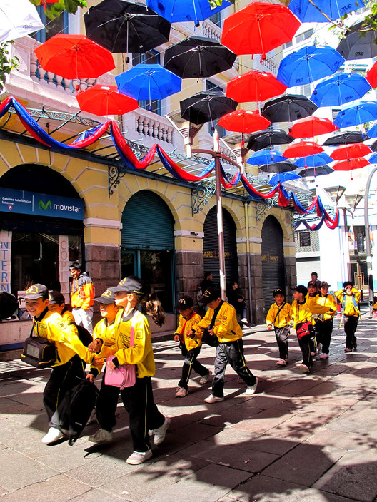 Paraguada. Image Cortesia de XIX Bienal Panamericana de Arquitectura Quito