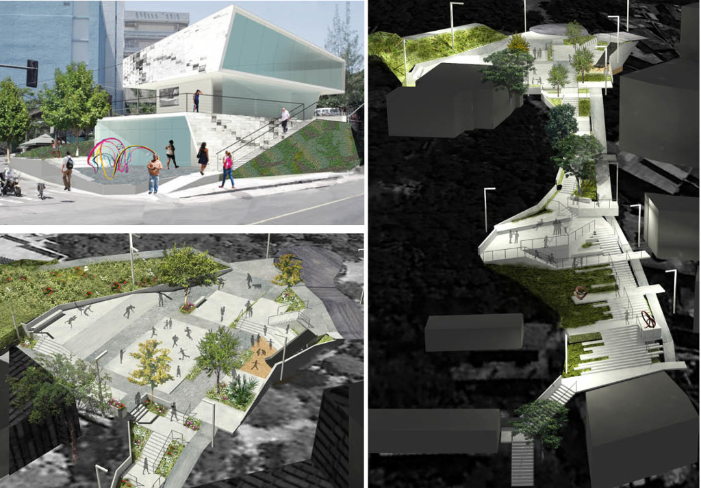 Parque Urbano e Instituto Sitie. Image Courtesy of Design Corps