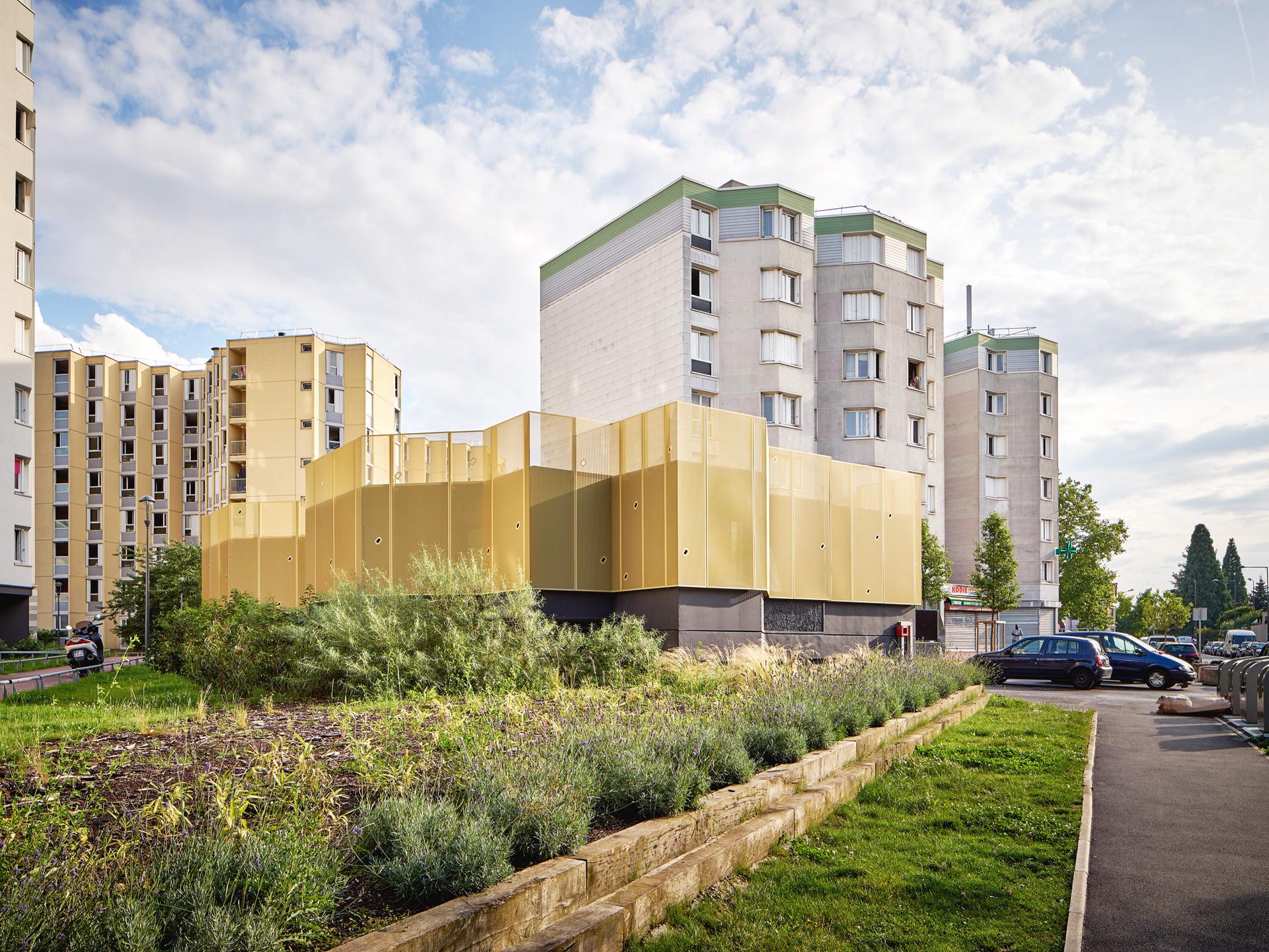 Centro Comunitario CLEC Montreuil / CUT architectures, © David Foessel