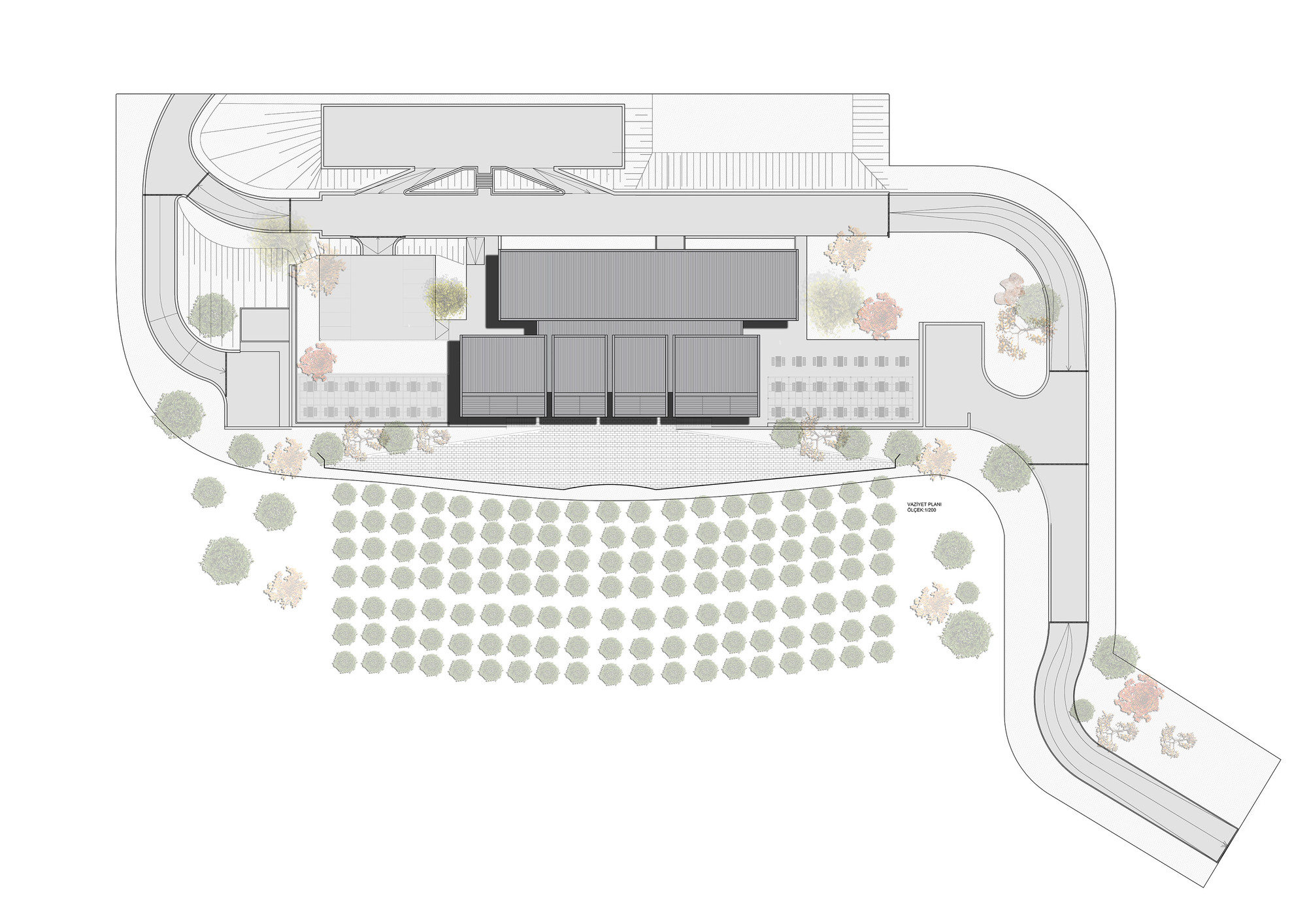 Gallery of la winery kreatif architects 22 for Winery floor plans by architects