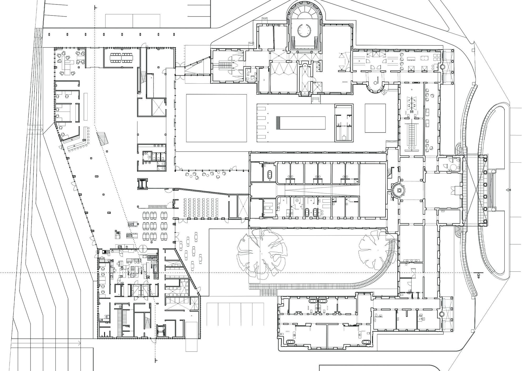 Plano de la planta baja