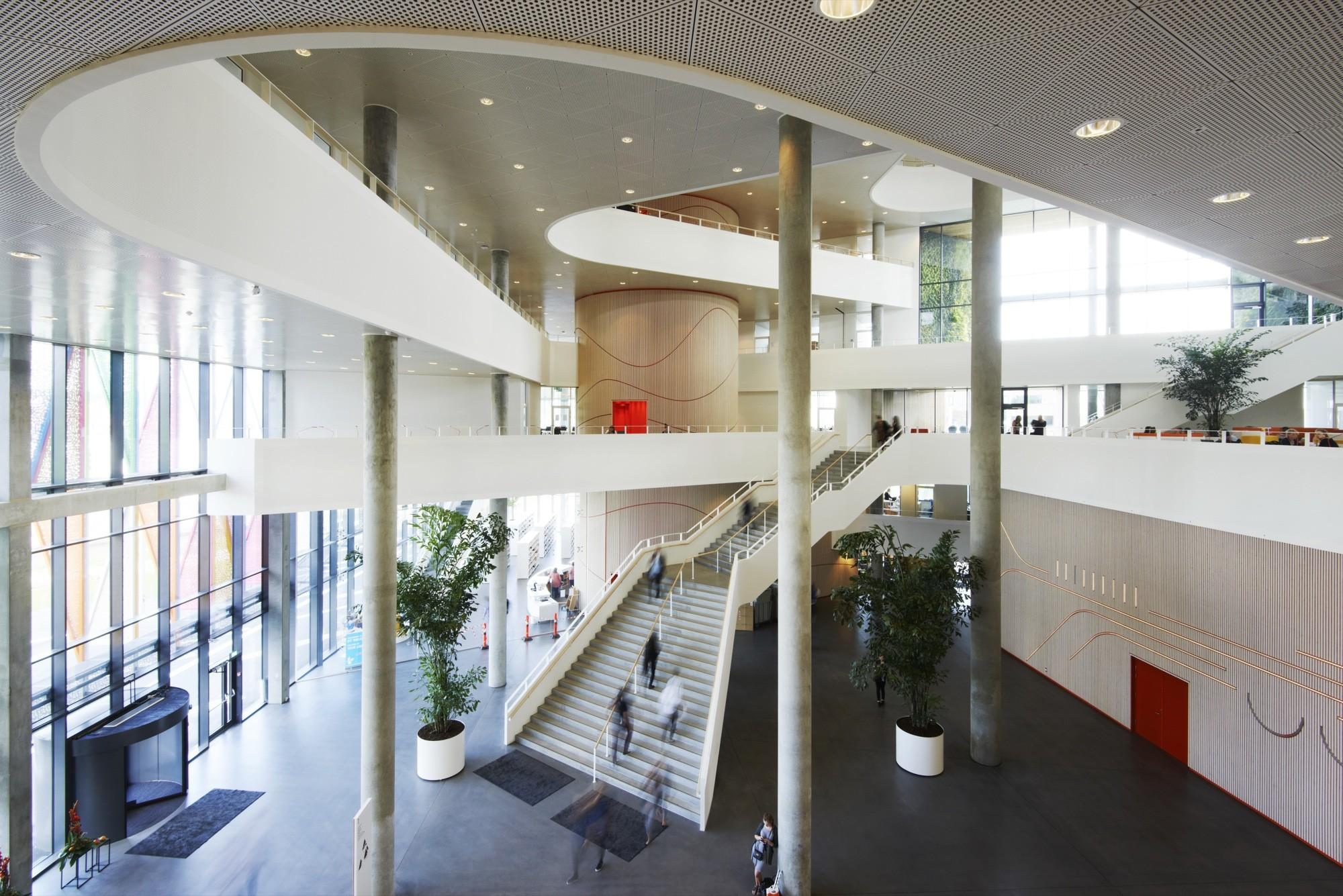 SDU Campus Kolding / Henning Larsen Architects, © Martin Schubert