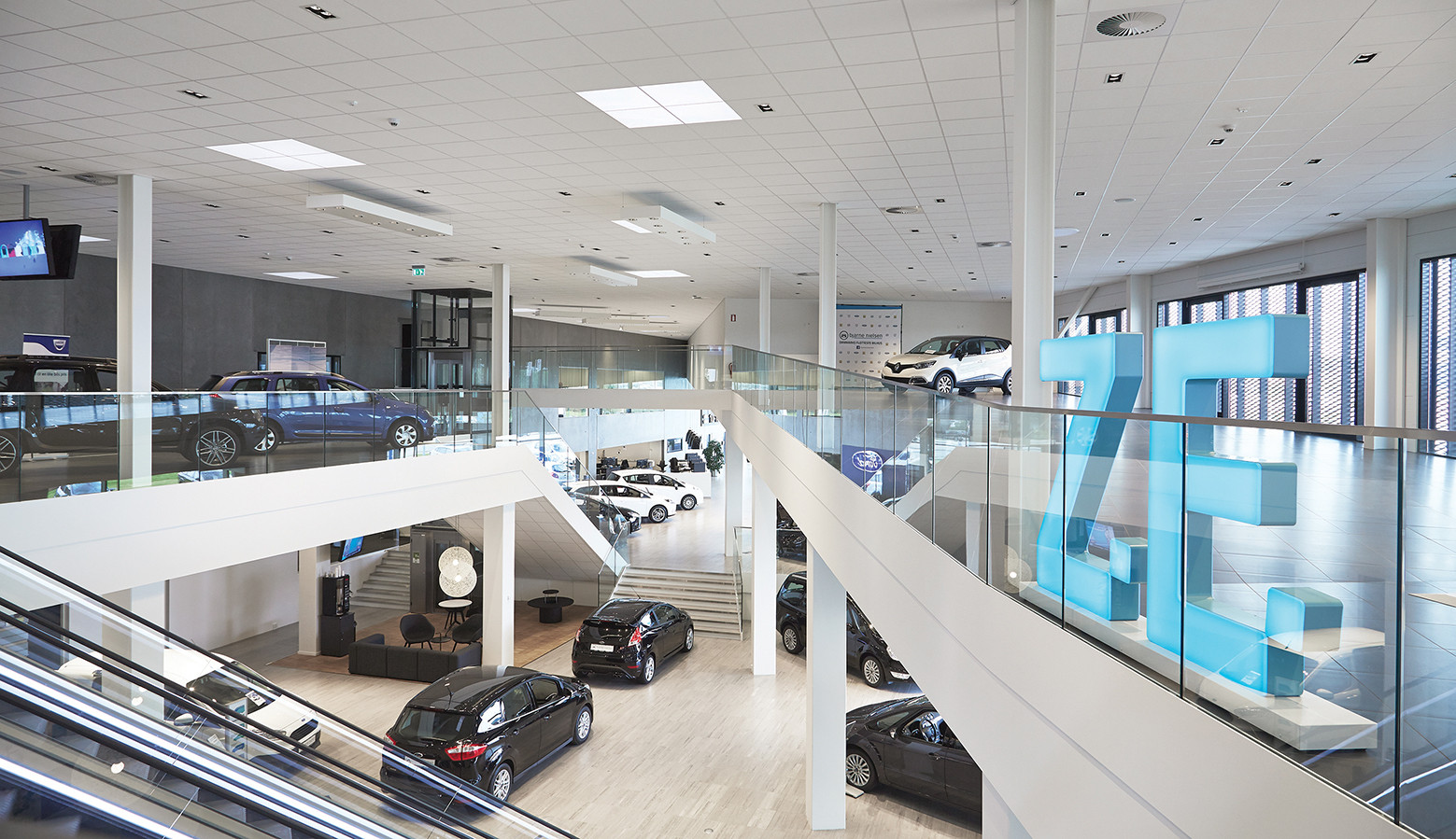 Gallery Of Automotive Showroom In Herning Krads 3