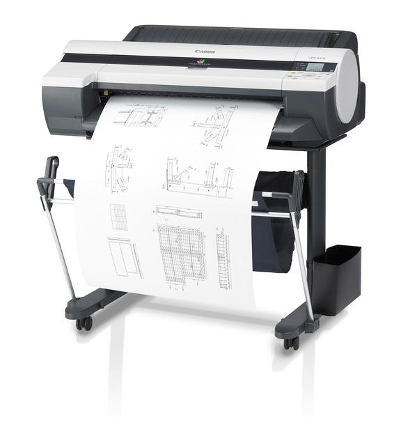 Inyección de Tinta: Impresora de gran formato iPF605 / Canon