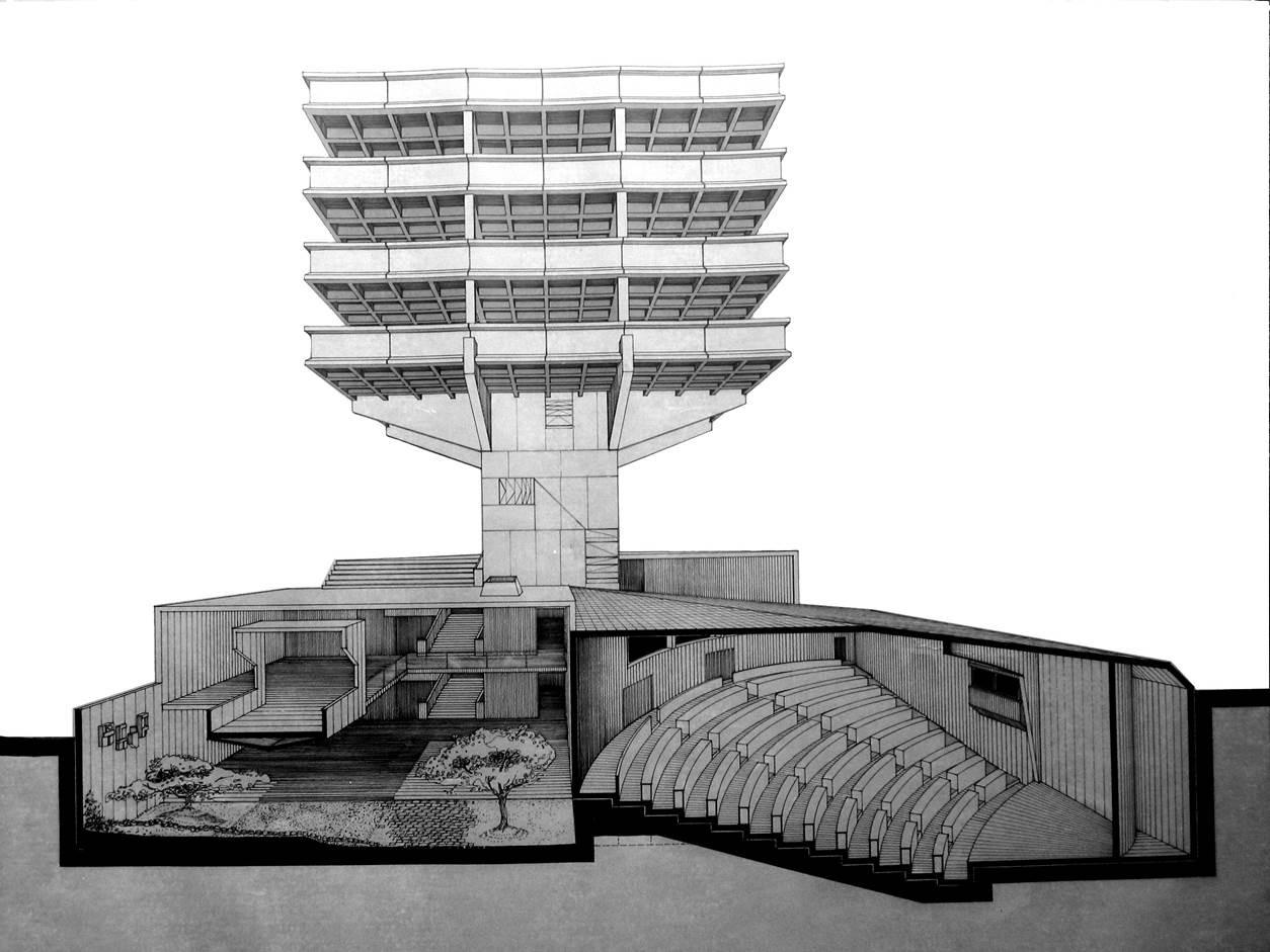 Milton Barrag N 80 A Os De Arquitectura Brutalista En