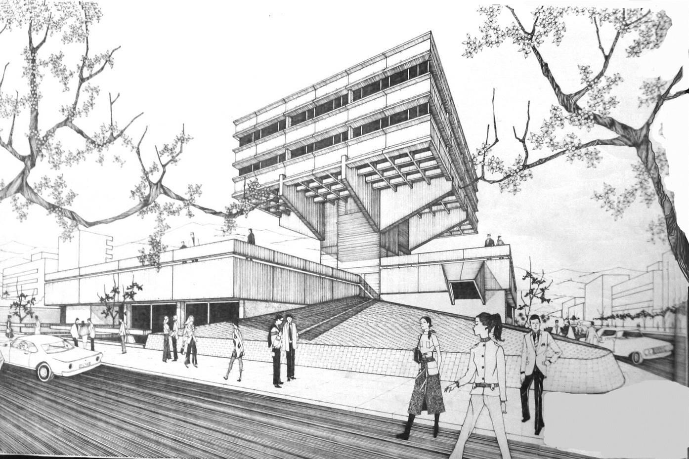 Milton Barragán, 80 años de arquitectura brutalista en Ecuador, CIESPAL. Image Cortesia de Archivo personal de Milton Barragán