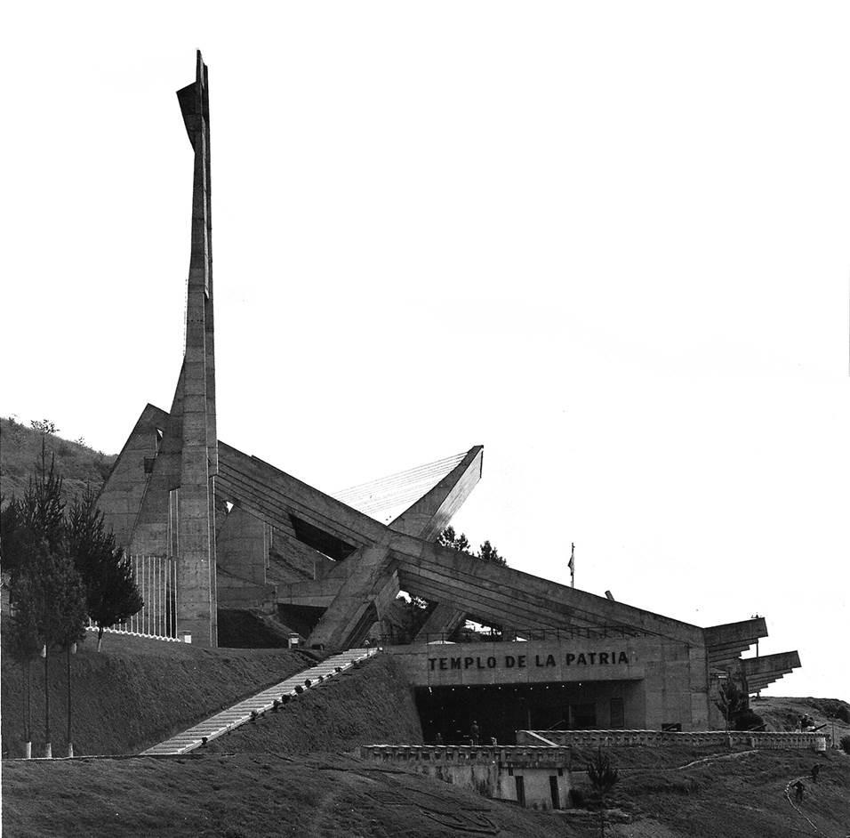 Templo de la Patria. Image Cortesia de Archivo personal de Milton Barragán