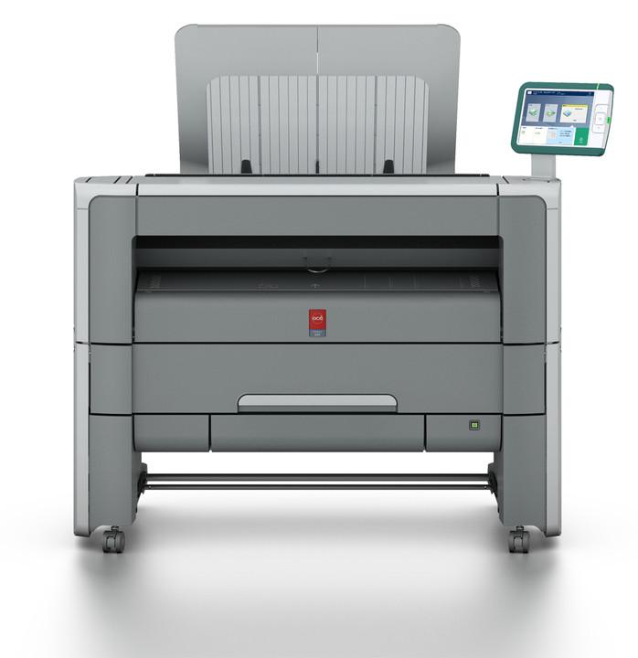 Láser: Impresora de gran formato Oce PW360 / Canon