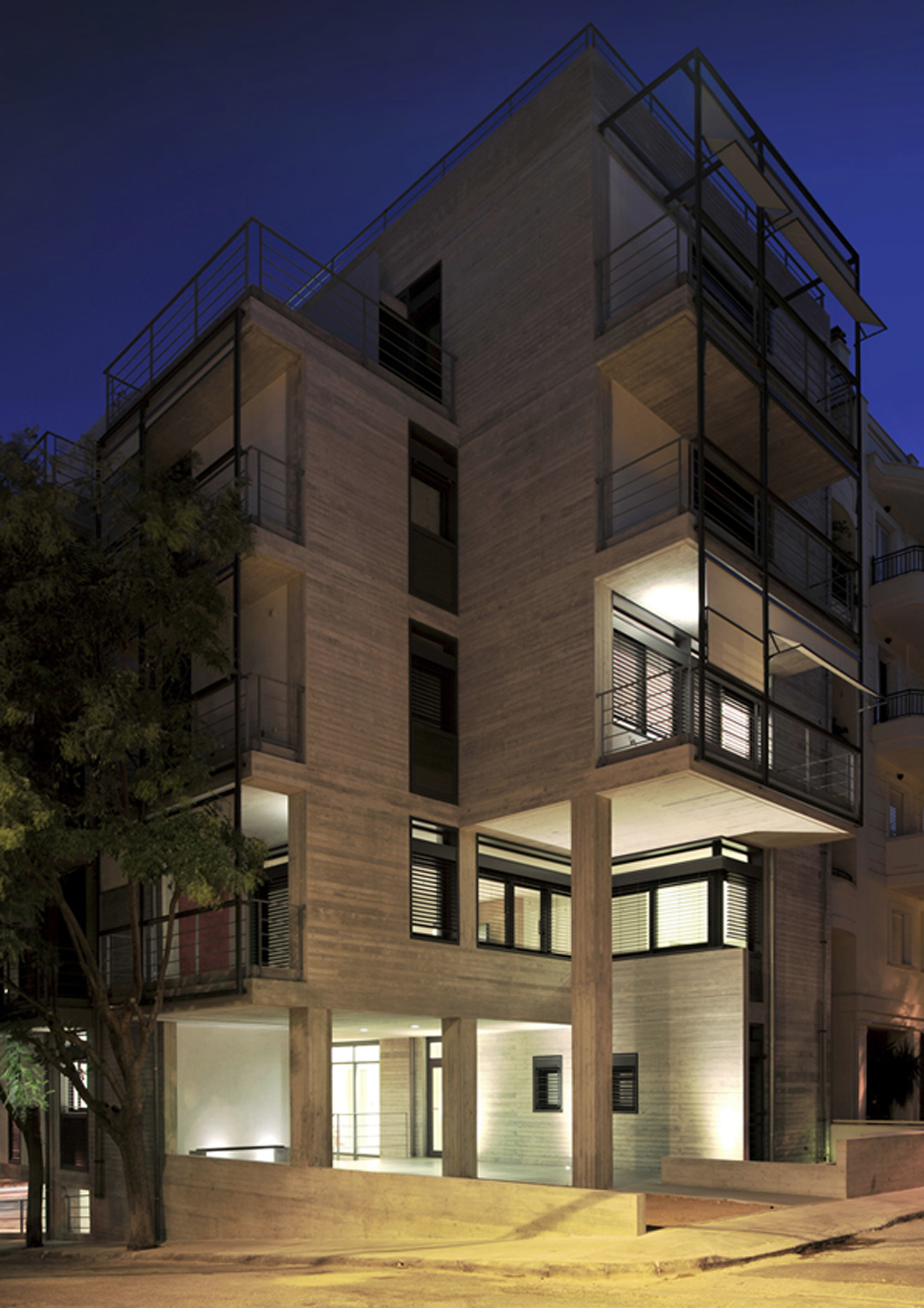 Gallery Of Apartment Building In Deinokratous Street Athens Giorgos Aggelis 12