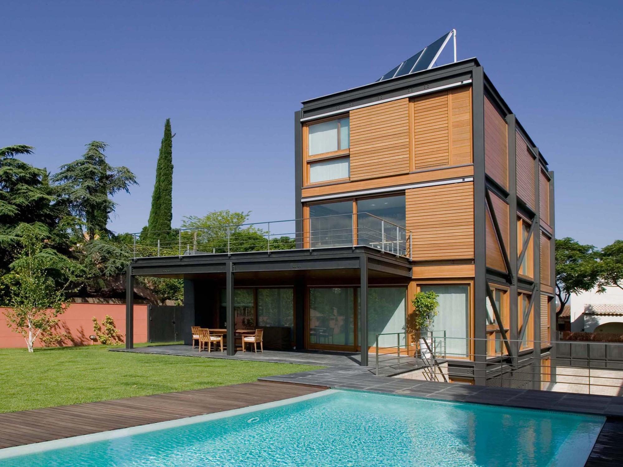 Casa p artigas arquitectes archdaily m xico - Casa cub moderne ...