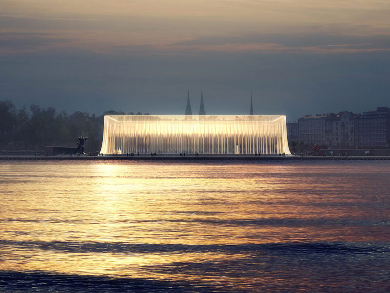 """Michael Sorkin On The Guggenheim, Museum Culture, and """"The Next Helsinki"""" Competition, Finalist: GH-121371443. Image Courtesy of Malcolm Reading Consultants"""