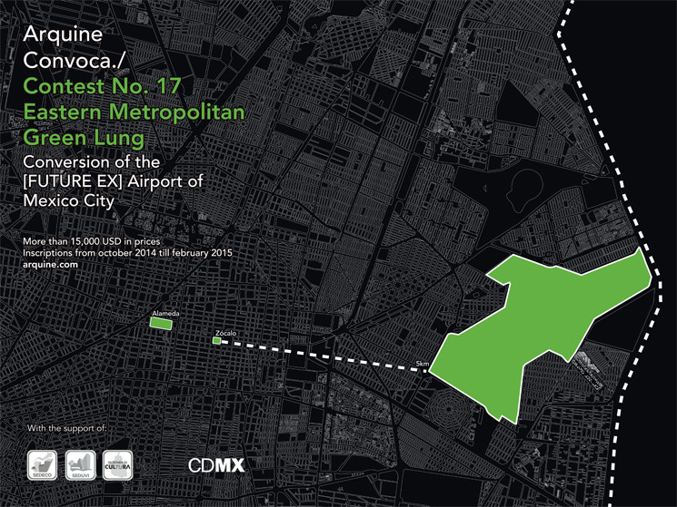 Arquine Launches Competition No. 17: Eastern Metropolitan Green Lung