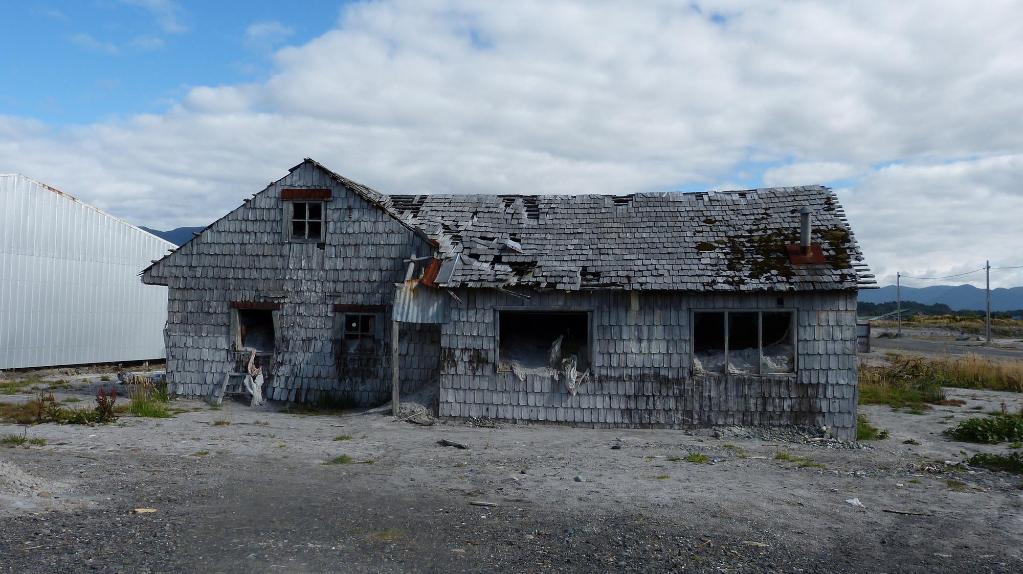 Chaitén tras segunda erupción en 2009. Image © Mariano Mantel [Flickr CC]