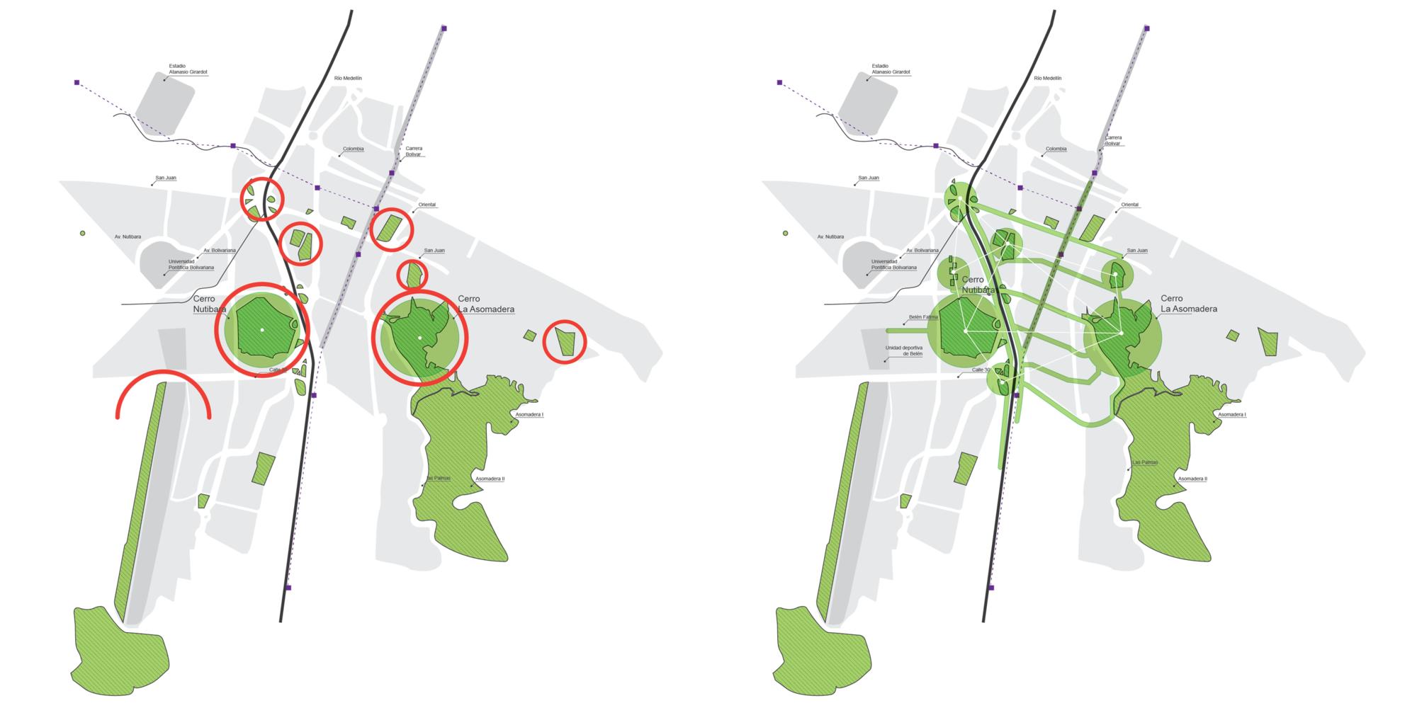 Conexión con la ciudad. Image Cortesia de Equipo Primer Lugar